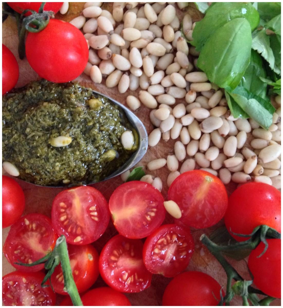 Pesto Pasta Recipe Ingredients