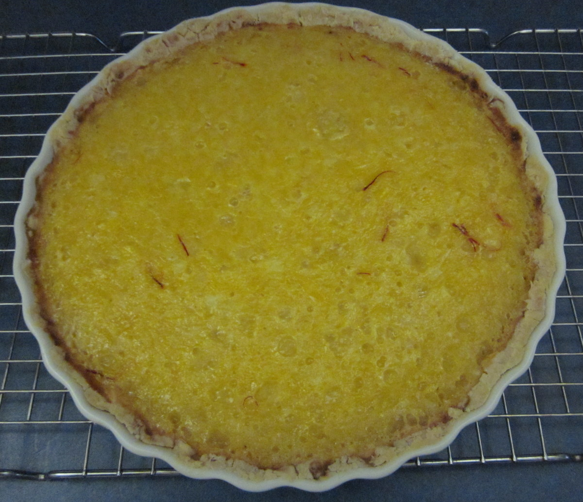 The finished tart