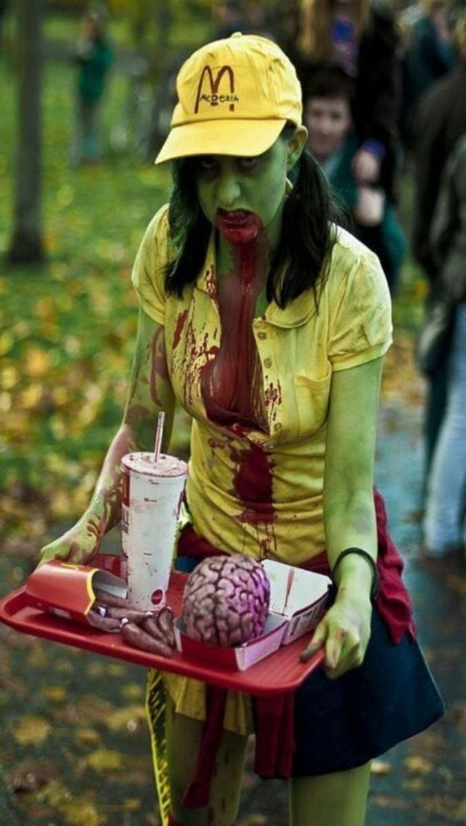 Zombie Fast Food