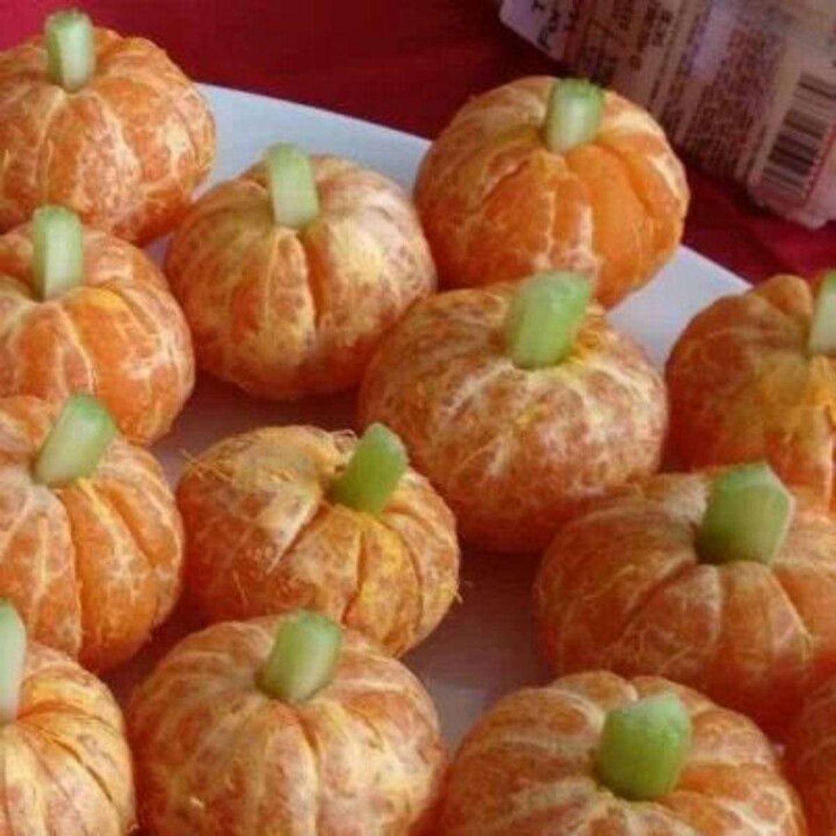 Oranges Disguised as Pumpkins