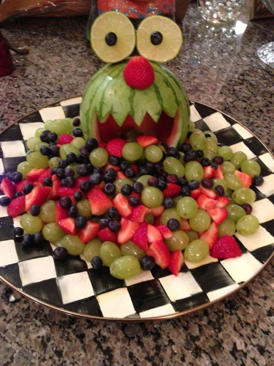 Monster Fruit Tray