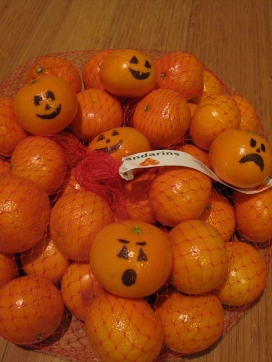 Jack-o'-Lantern Mandarins