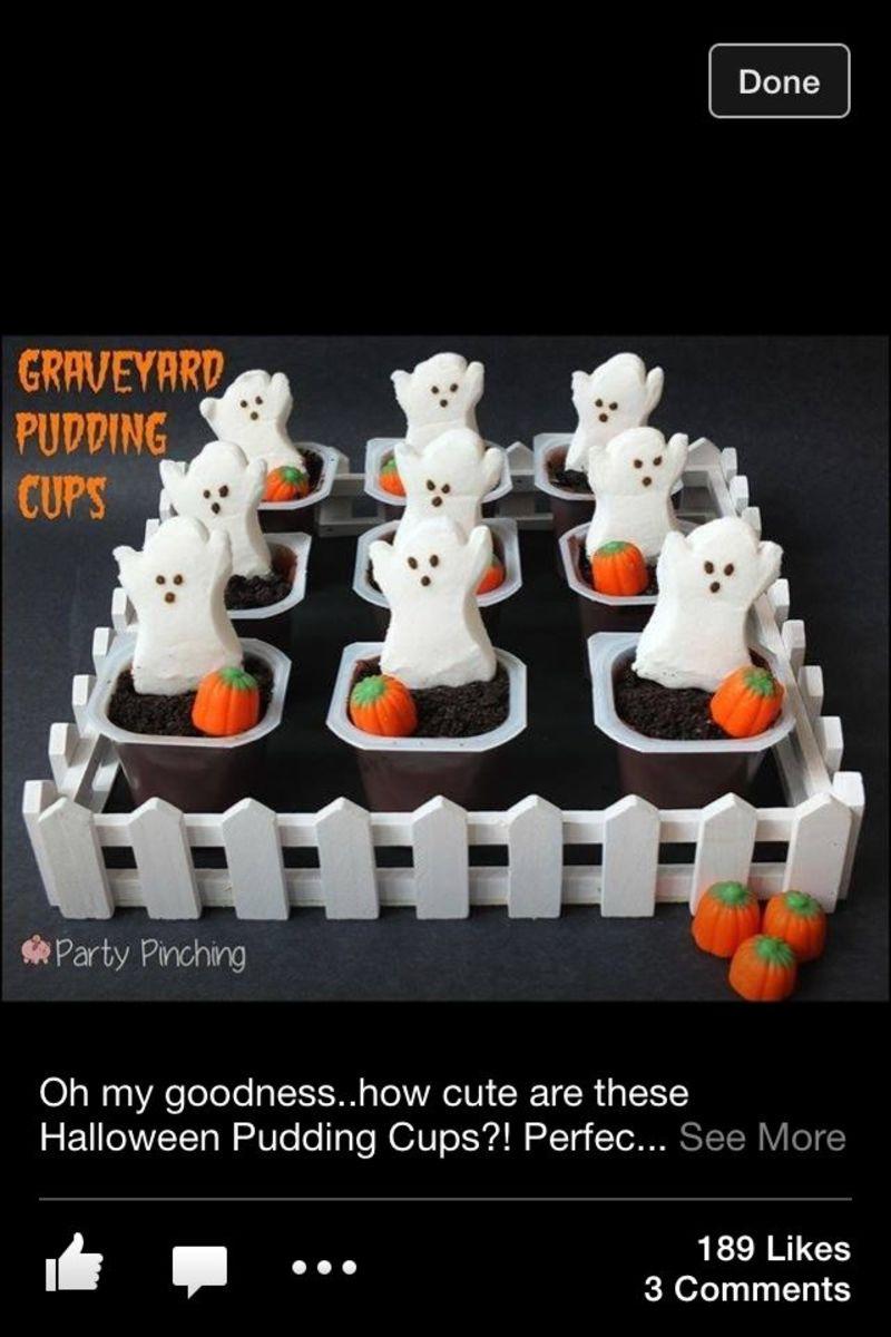 Graveyard Pudding Pops