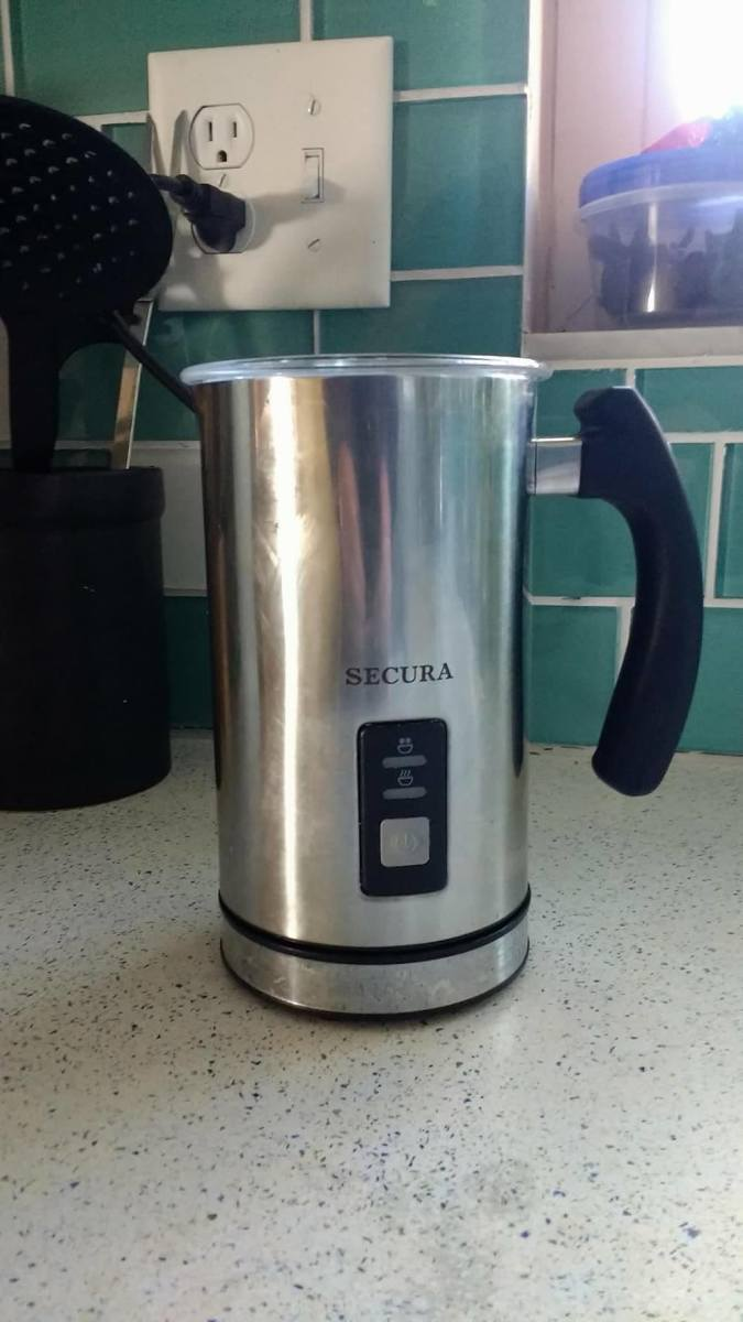 I love my Secura frother. It is perfect for making milk froth. It is hassle free and does everything with just the press of a button. It's easy to clean and when not in use, can be easily stored. I love the look and feel of it too.