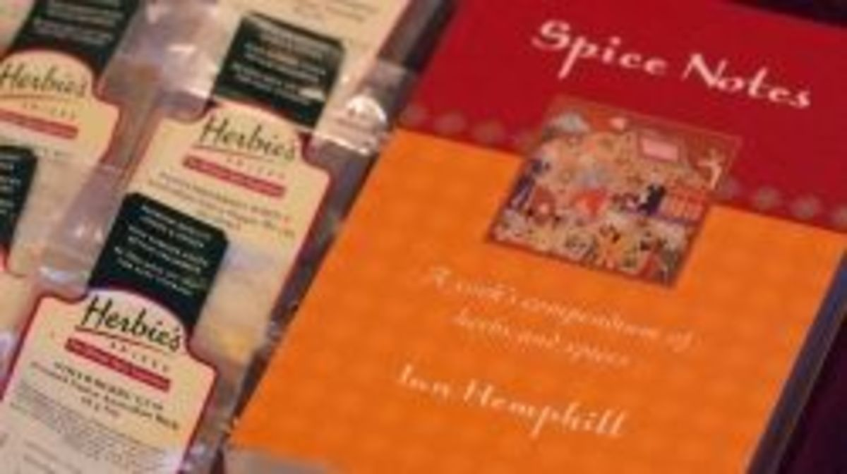 Herbie's spices, from Australia, with Ian Hemphill's wonderful book!