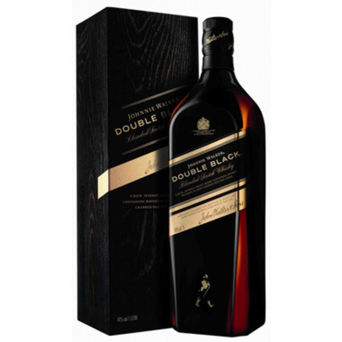 Originally released to the travel retail market, Johnnie Walker Double Black incorporates more charred casks than the classic Black Label. This gives the whisky a smokier taste, while keeping all the sophistication of the classic Johnnie Walker. .