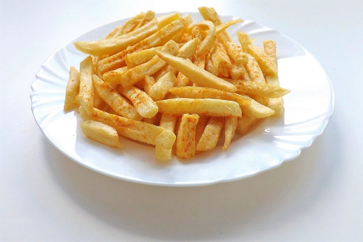 French fries or chips are a basic ingredient of poutine.