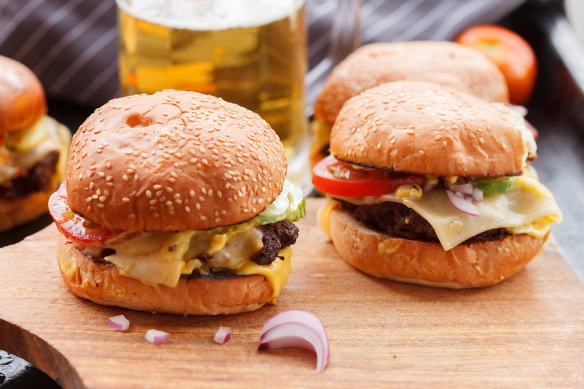 Will you have a signature burger? Consider using that as your restaurant name.
