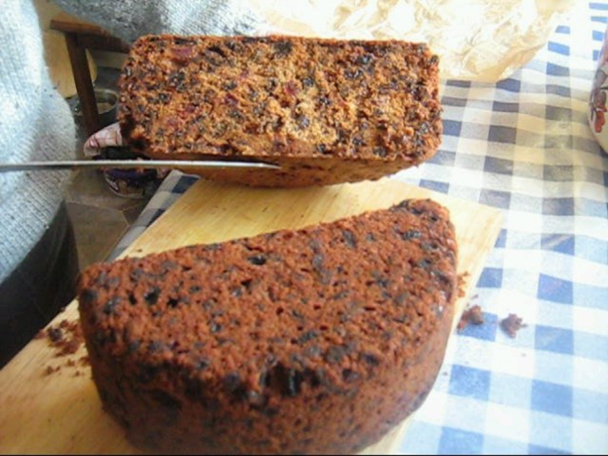 Dundee Fruit Cake Recipe