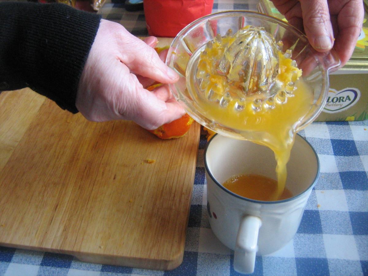 Squeezing the Oranges