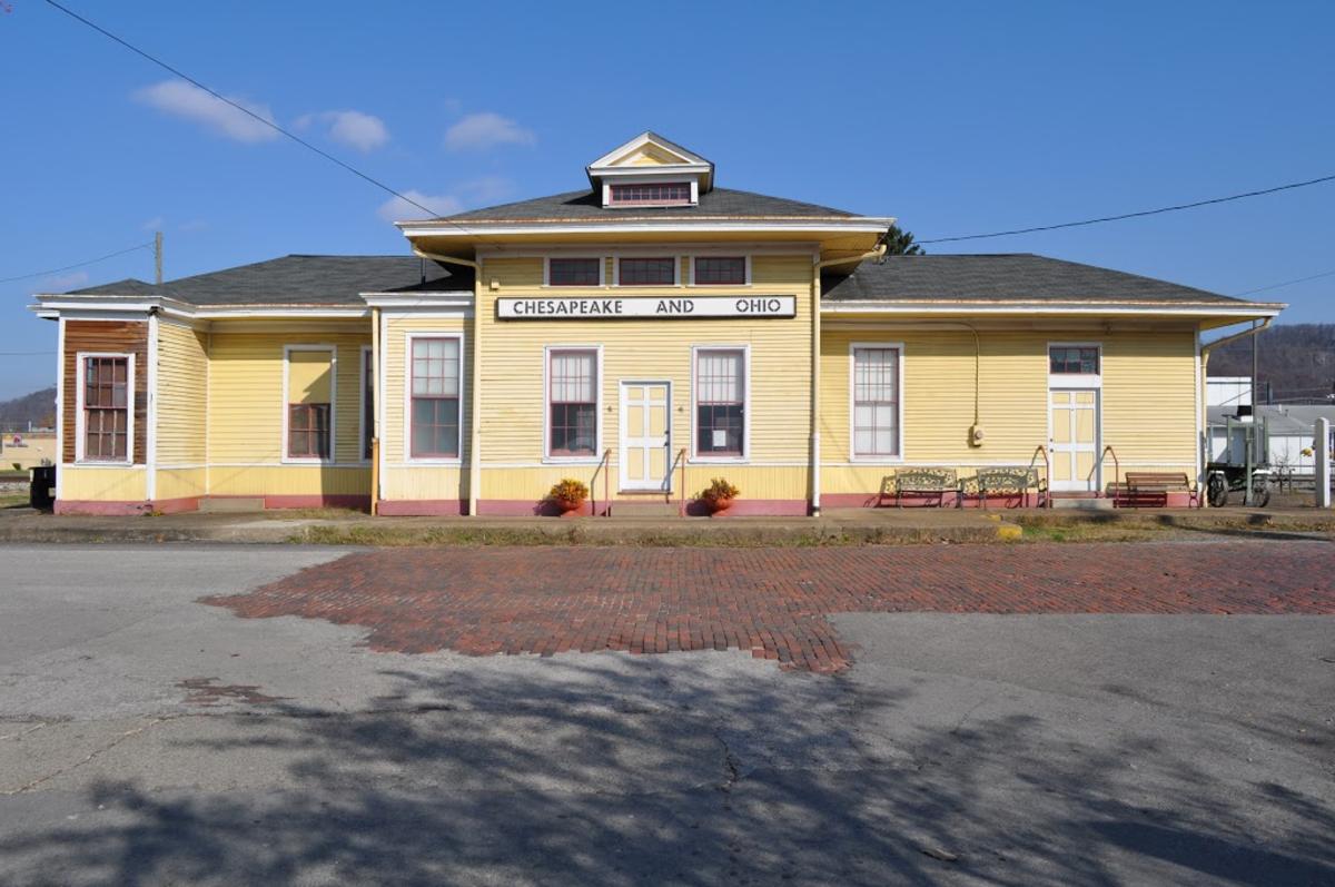 The old (refurbished) C & O Train Station. Saint Albans, WV