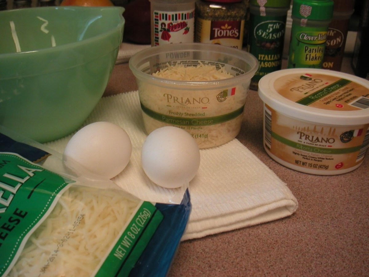 Cheese sauce for layering the casserole