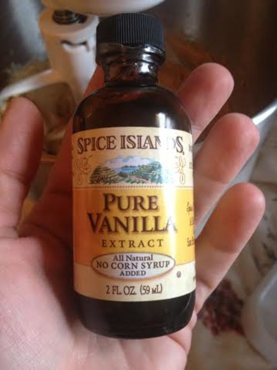 Real, pure vanilla extract.