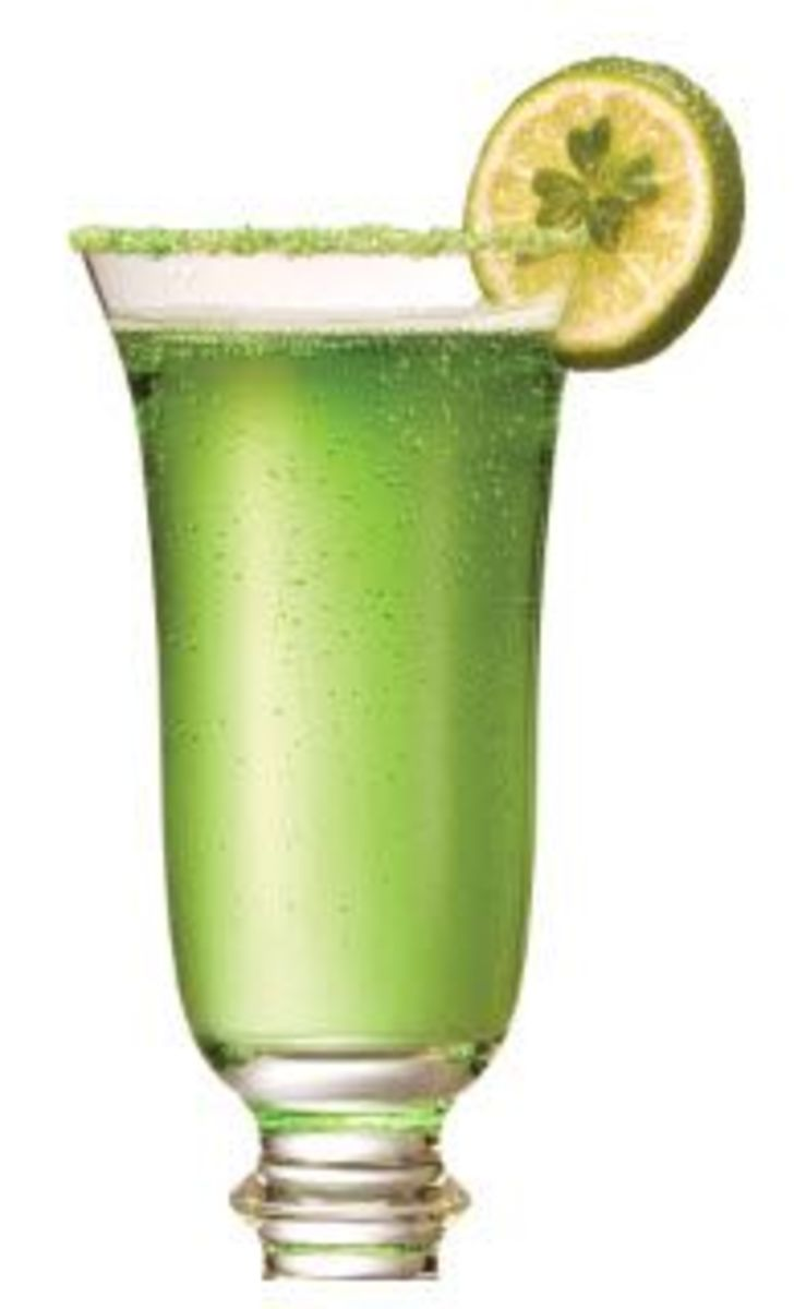 Emerald Champagne Mocktail
