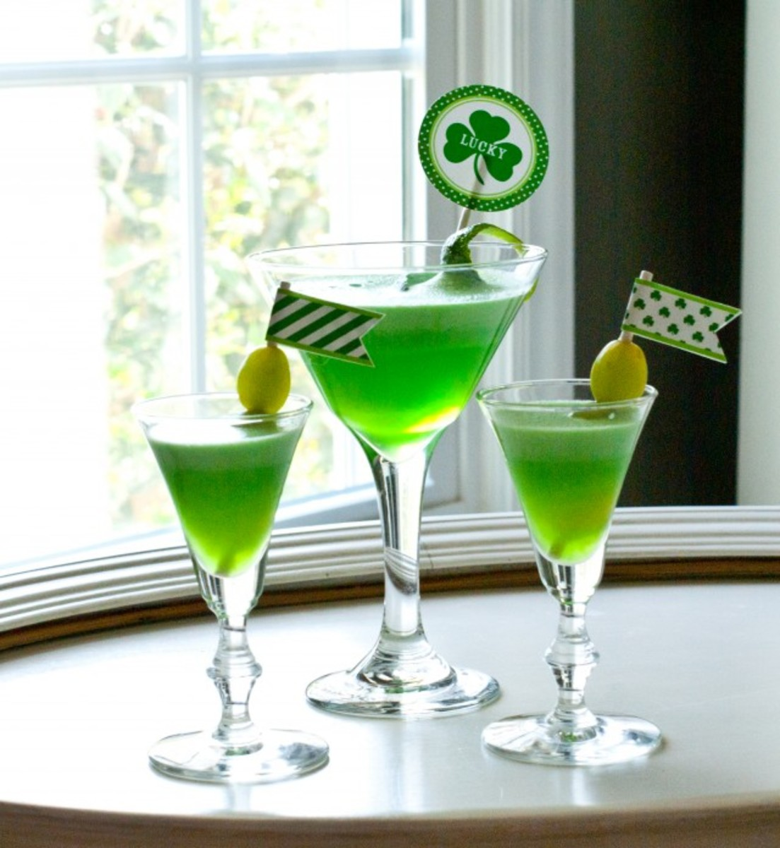Check out Anders Ruff's version of a St. Patrick-tini.