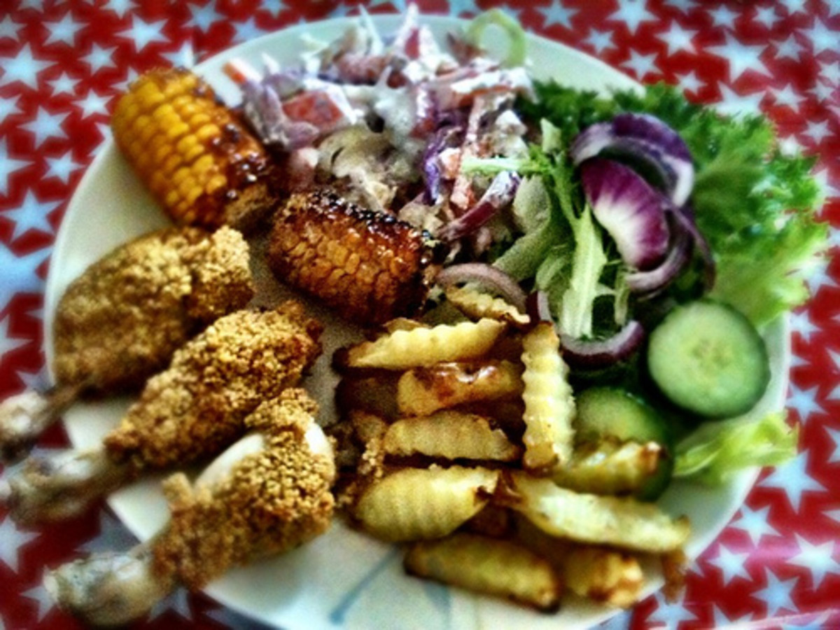 Slimming World Syn Free KFC-Style Chicken