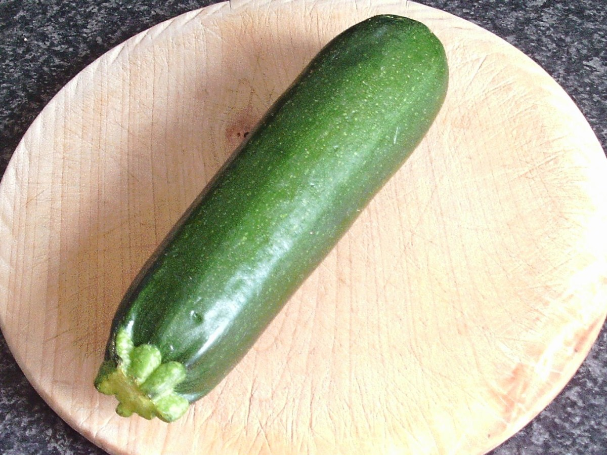 Courgette and zucchini are simply two different names for this member of the squash family.