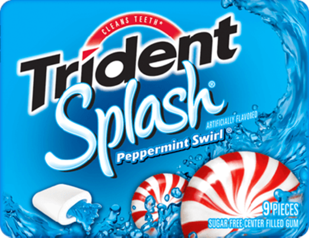 Trident Splash: Peppermint Swirl