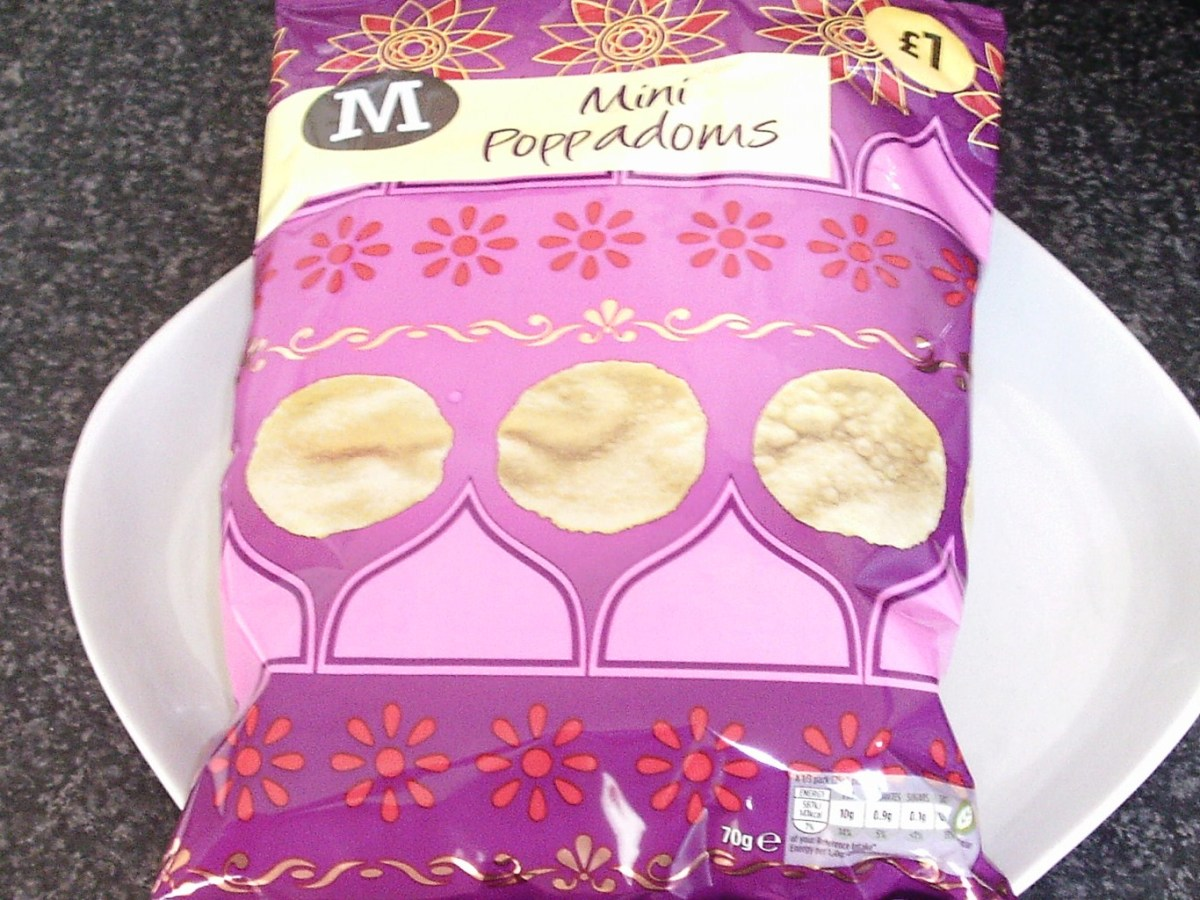 Mini poppadoms