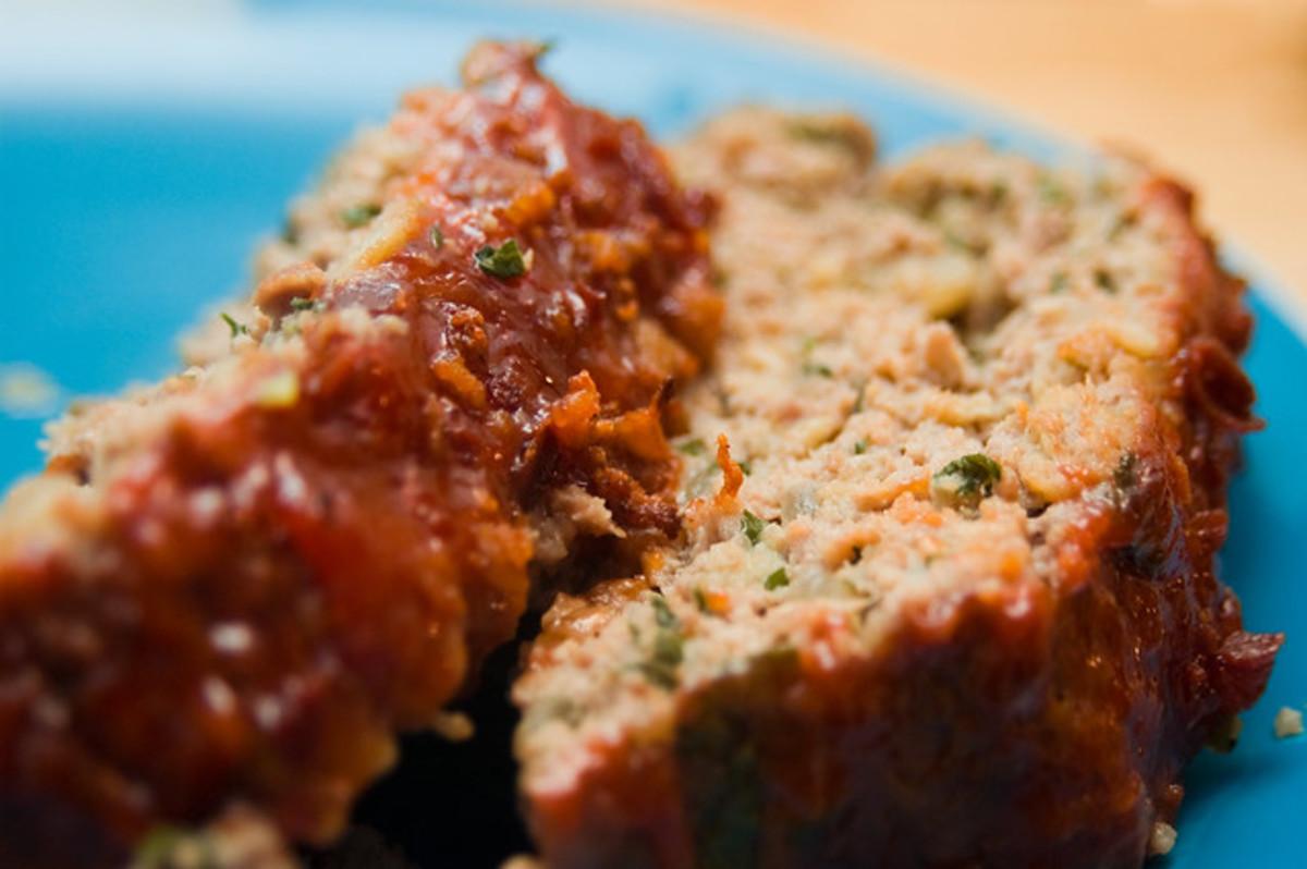 Turkey kale meatloaf