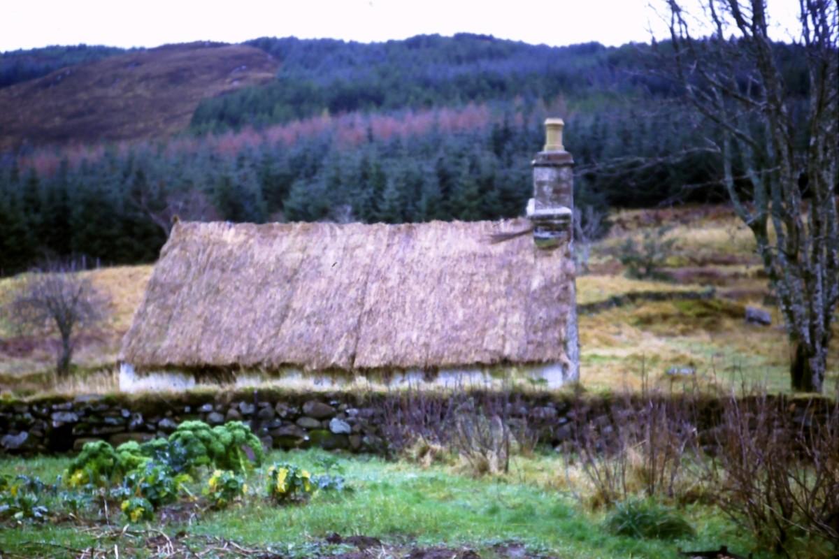 Kailyard in Auchindrain, Scotland