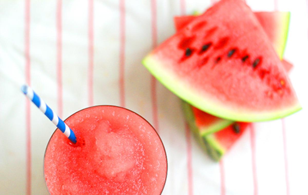 Watermelon slush or slushie.