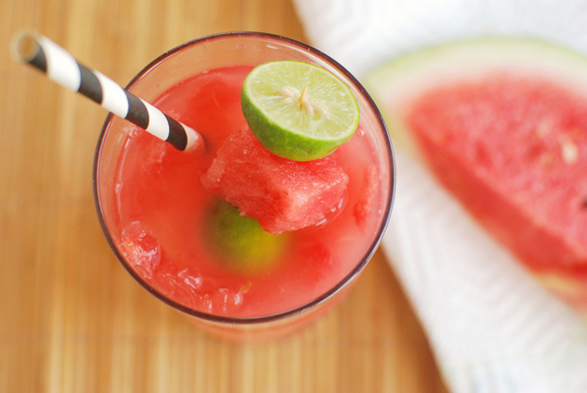 Watermelon daiquiri.