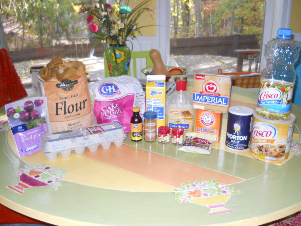You probably have most of these ingredients in your pantry and refrigerator.