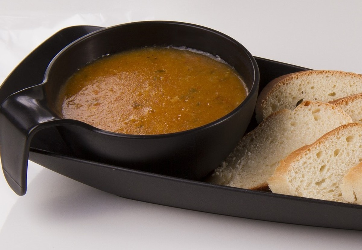 Ribollita is a rustic soup of beans, vegetables, and bread