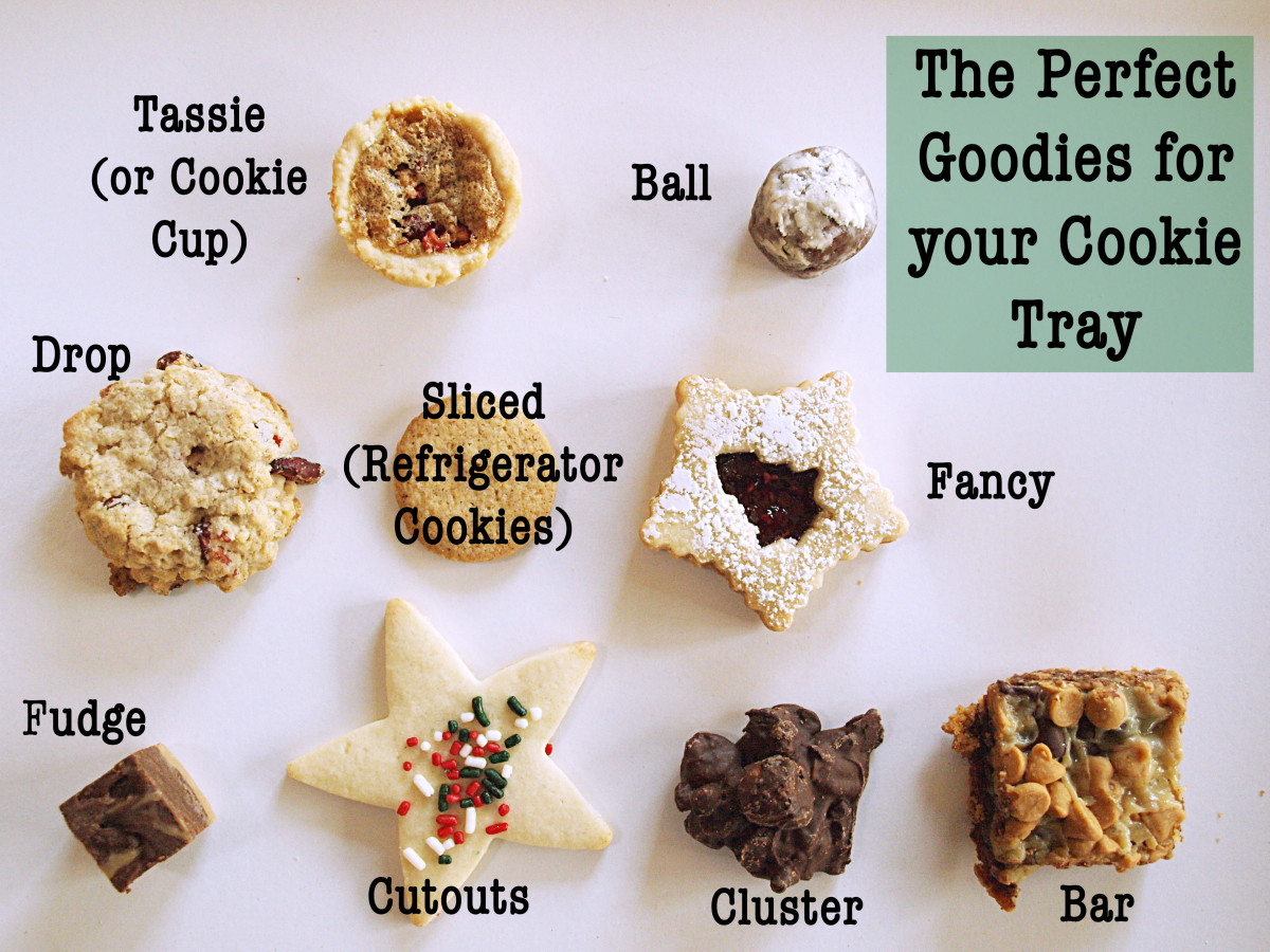 You can't go wrong with one of each type of these goodies on your cookie tray.