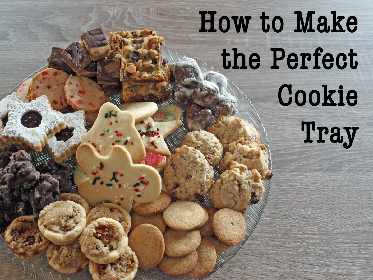 Cookie trays are a wonderful gift any time of year.  Here are some tips and tricks on putting together the perfect tray for Christmas or any other special occasion.