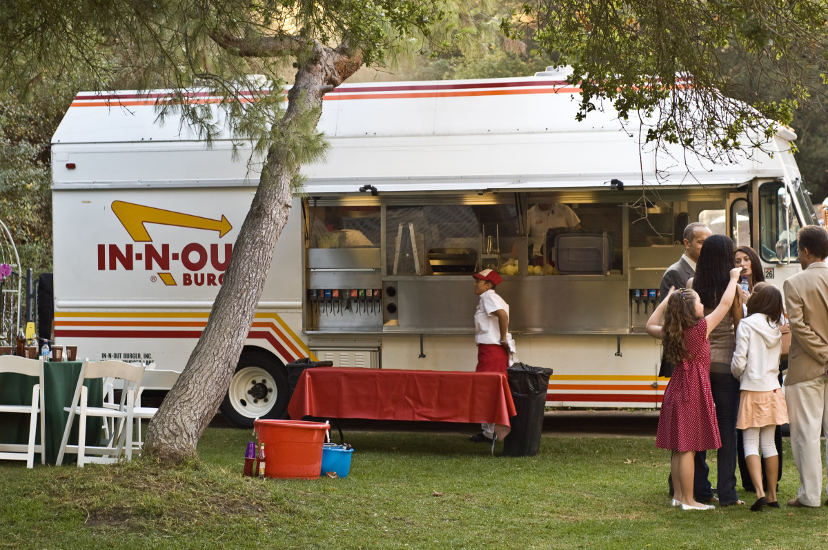 Did you know that INO does catering?  For special occassions, cook-out vans will come and cook fresh burgers at picnics or charity events.  They've also done pop-up stores worldwide, even in Australia and Japan!