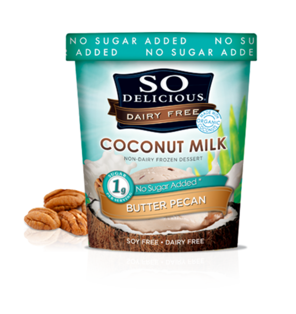 Soy Delicious Organic Butter Pecan
