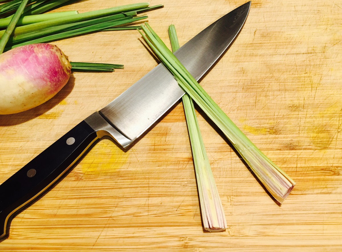 Sliced Lemongrass
