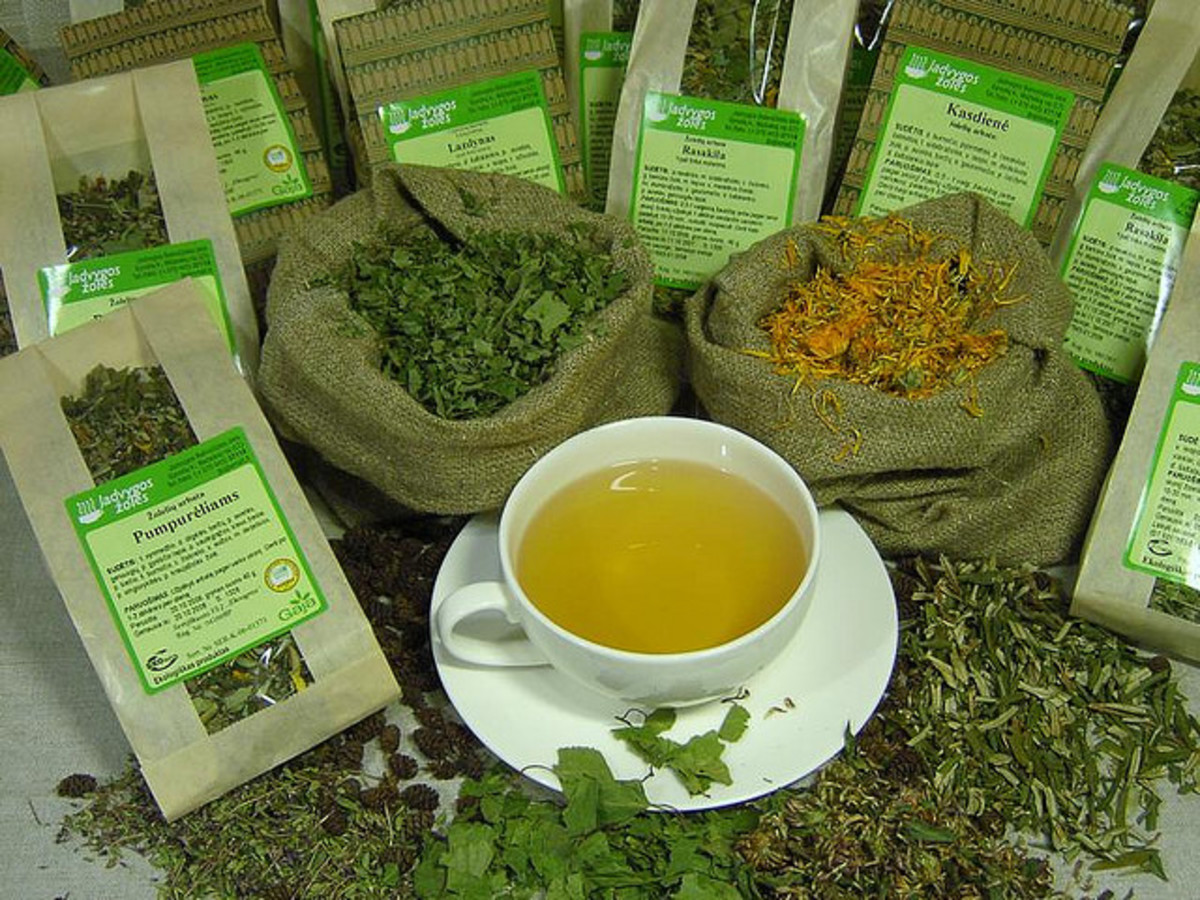 Herbs can be used to create delicious and nutritious teas.