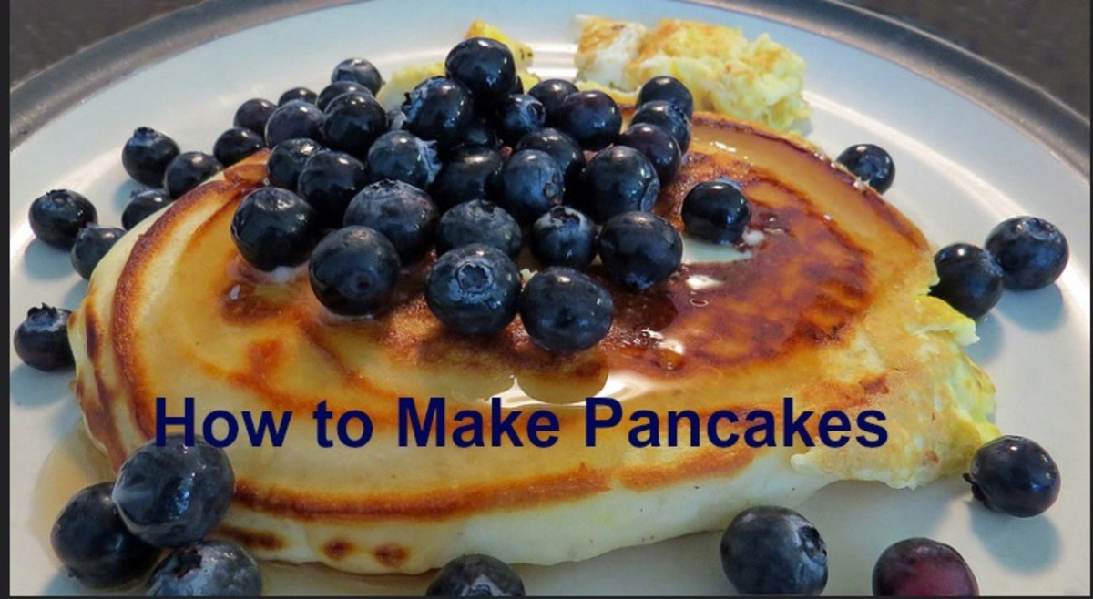 Pancakes never get boring when you add different fruits, berries, and nuts, use new ingredients, and experiment with various syrups.