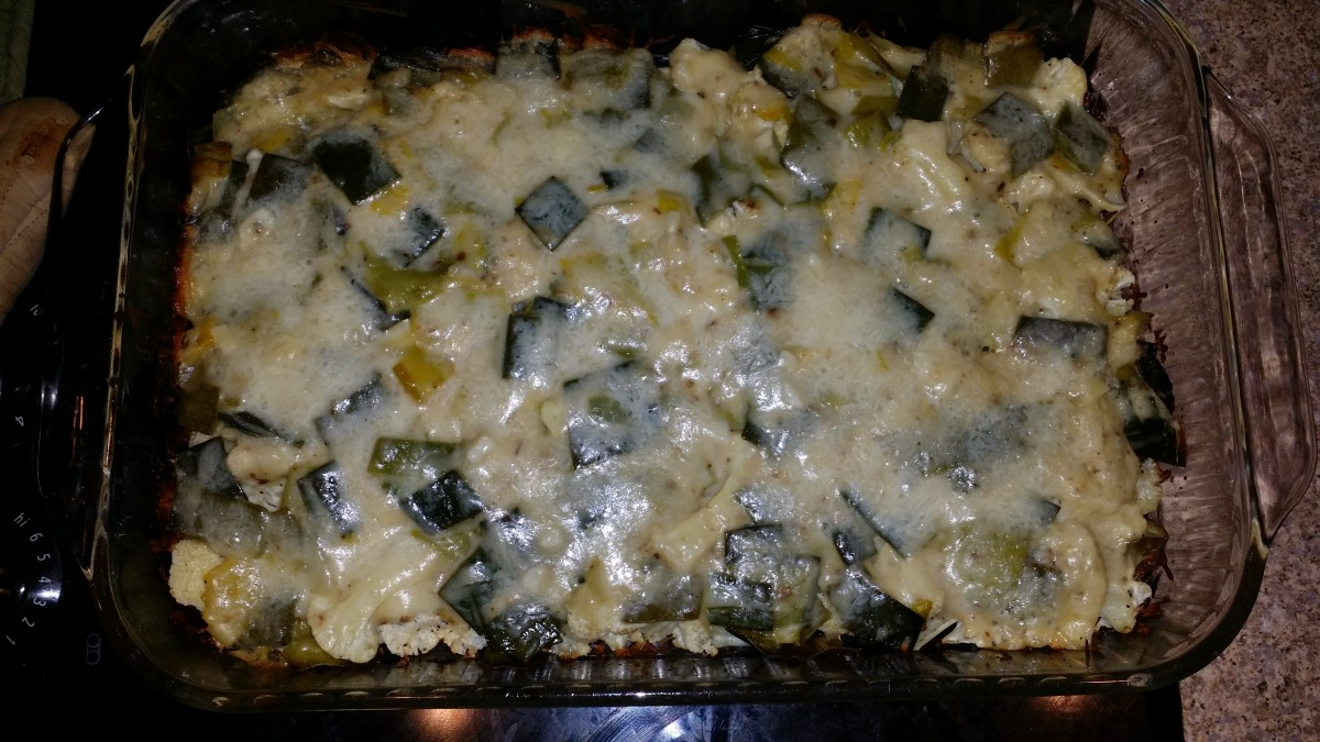 Top with cheese and bread crumbs (optional), bake, and enjoy!