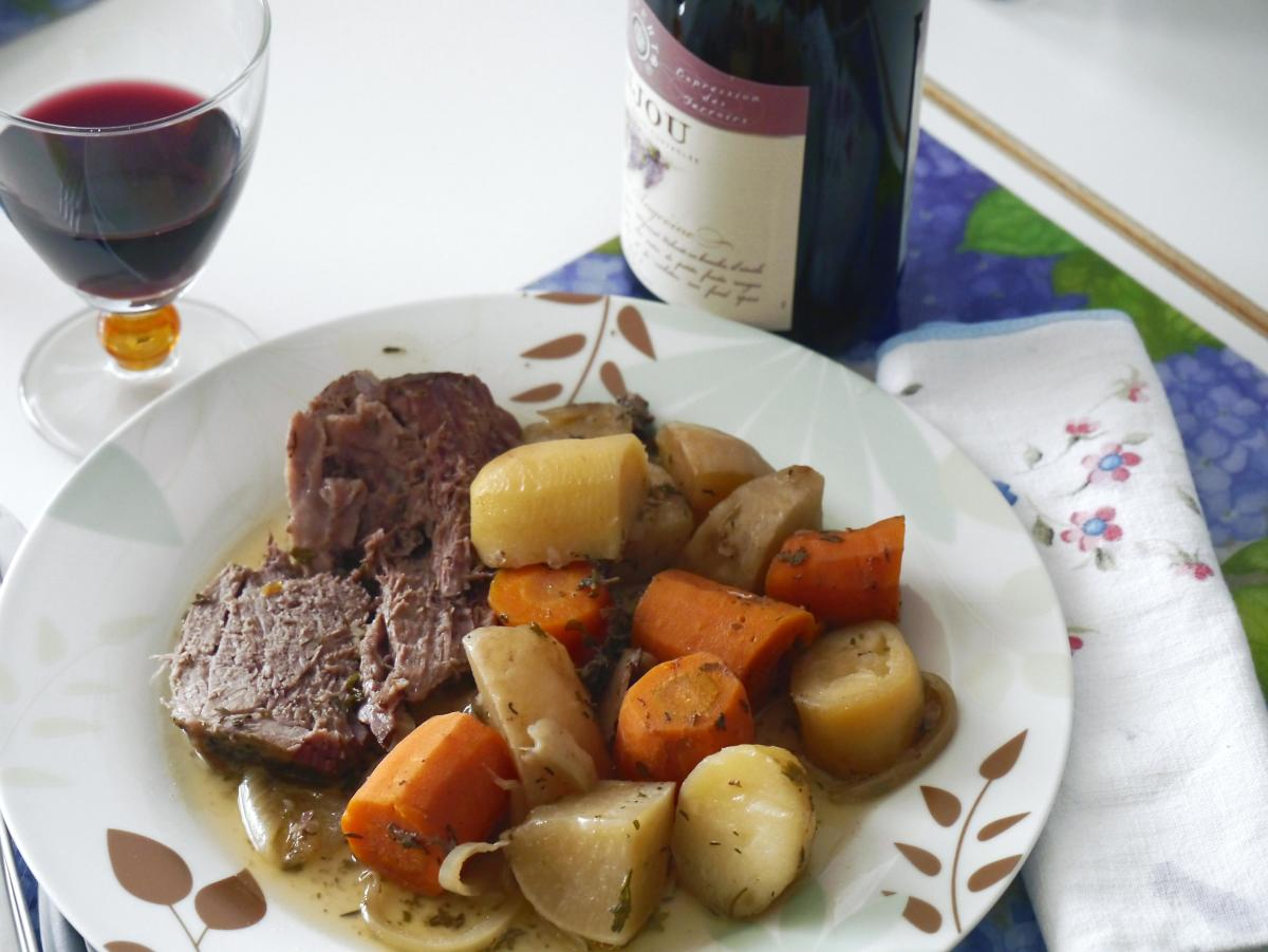 """A typical """"meat and potatoes"""" meal"""