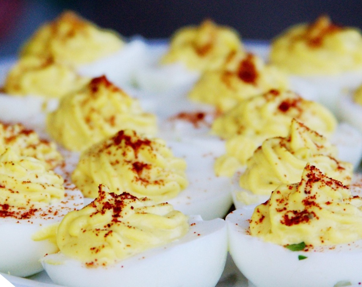 Carb Diva's Deviled Eggs