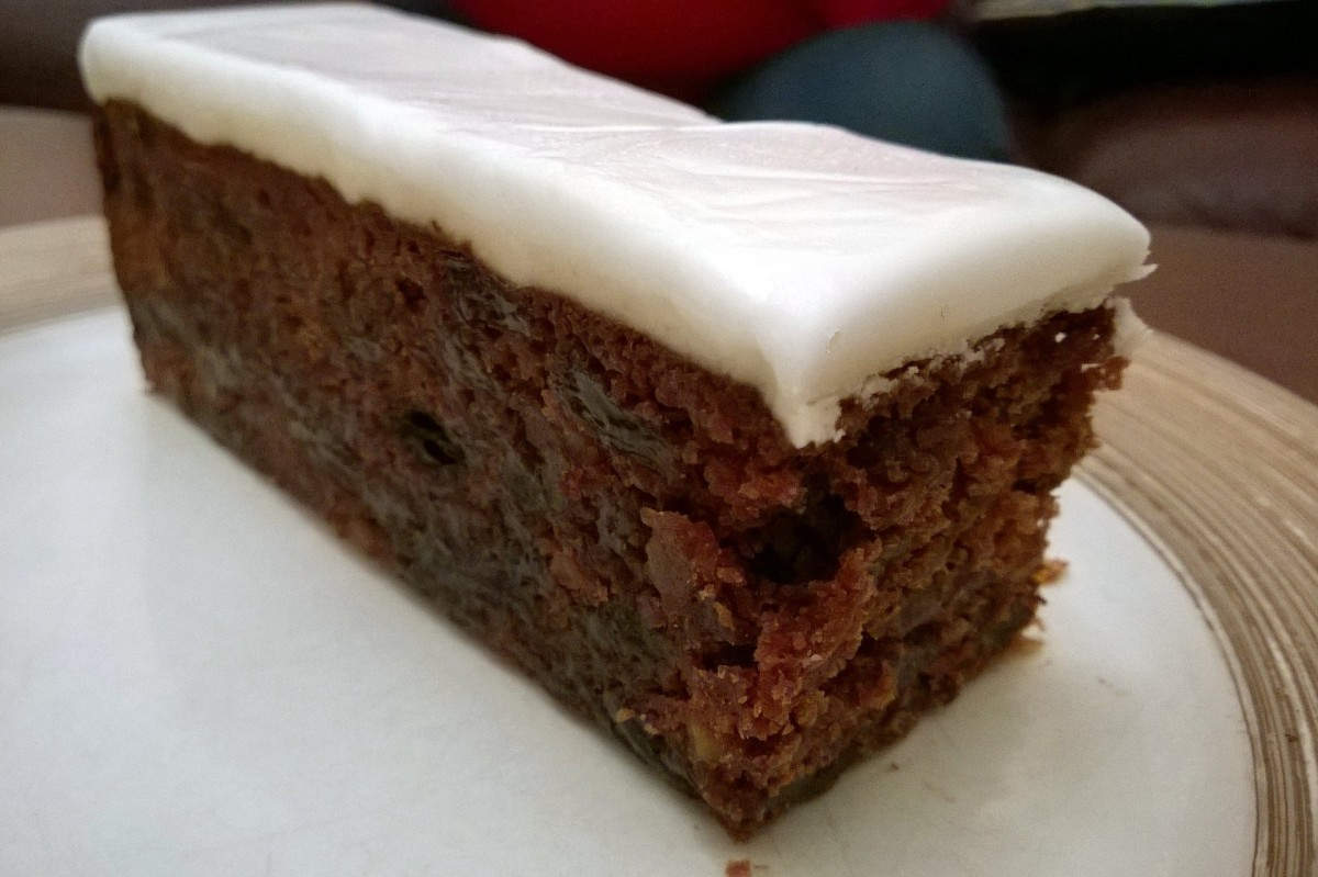 Carb Diva's Carrot Cake