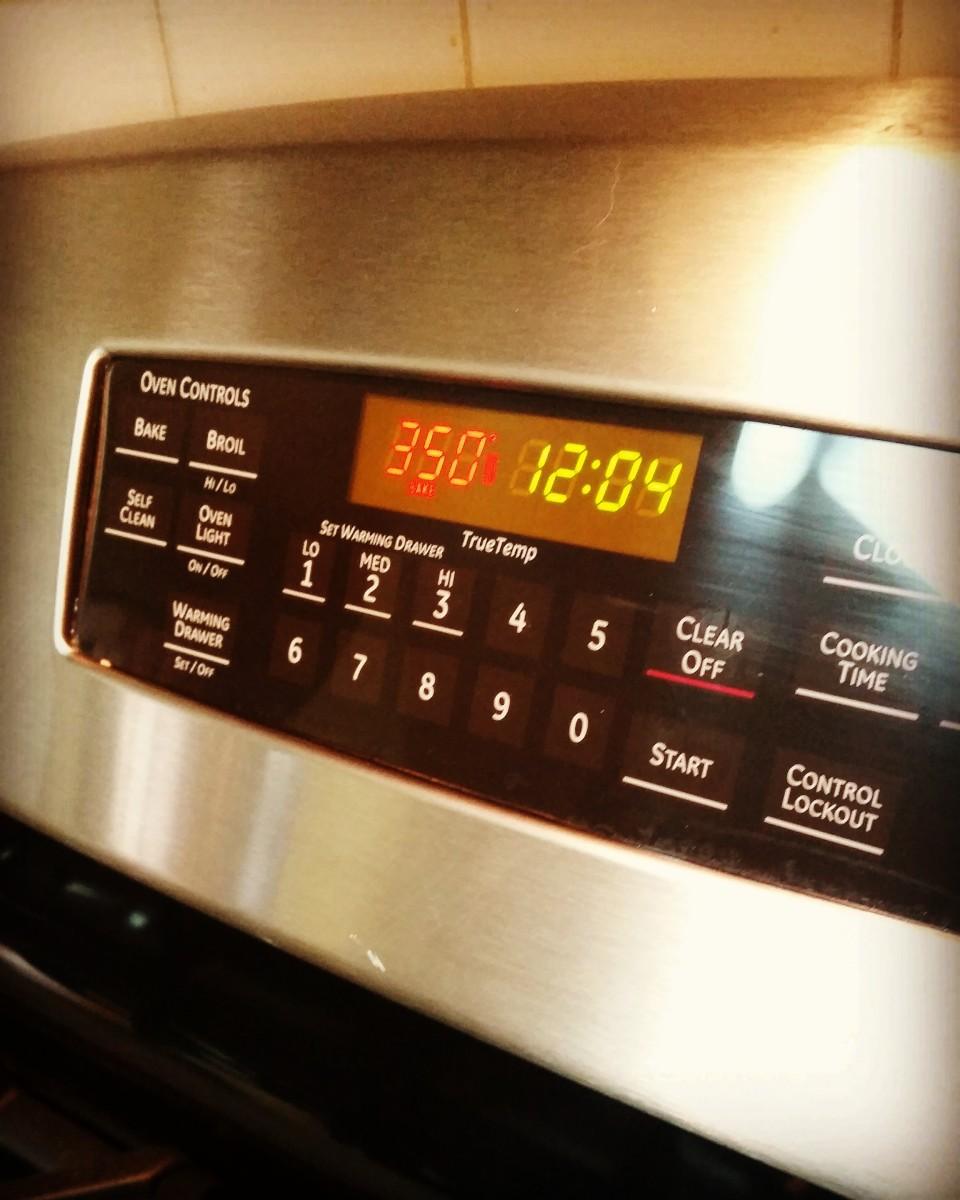 Preheat the oven.