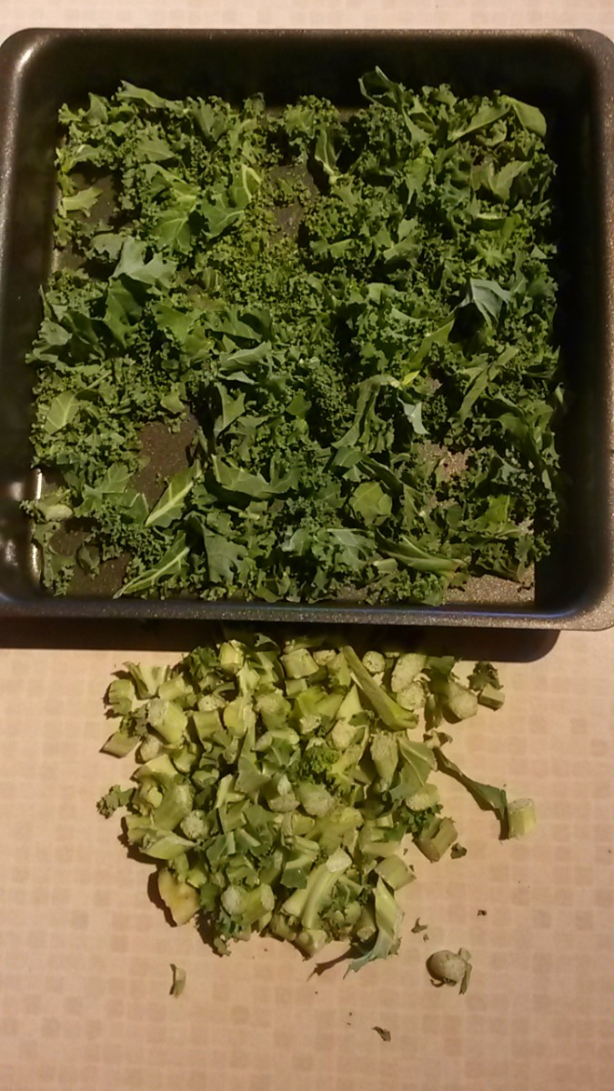 How To Make Spicy Kale Crisps