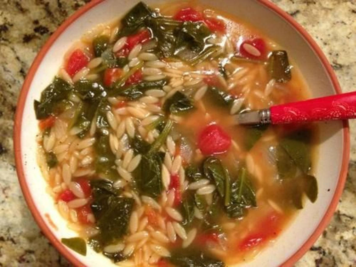 Orzo Tomato Soup
