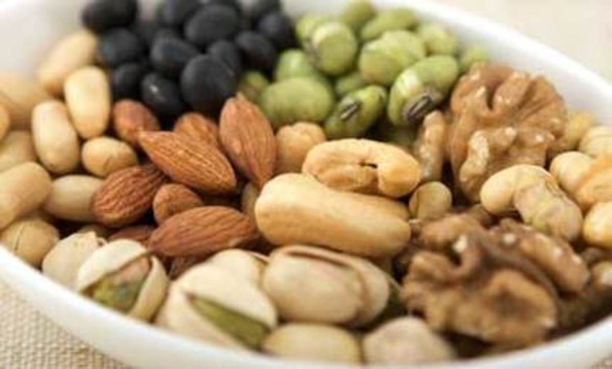 Legumes are a protein-rich food.