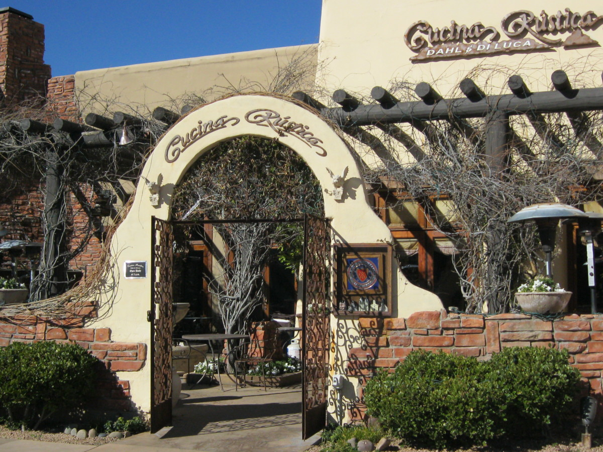 Cucina Rustica is well known for rustic Italian food, ambiance, and great wine selection.
