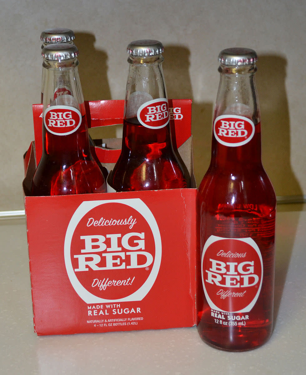 Big Red soda pop ice cream is one of my favorites!