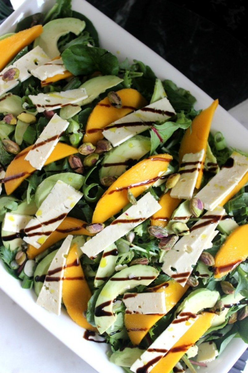 Mango Feta Salad