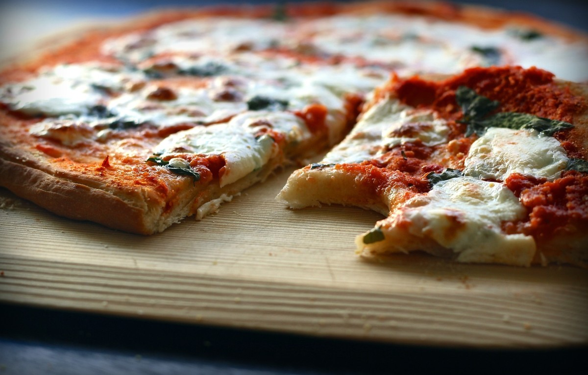 Mmmm, pizza!