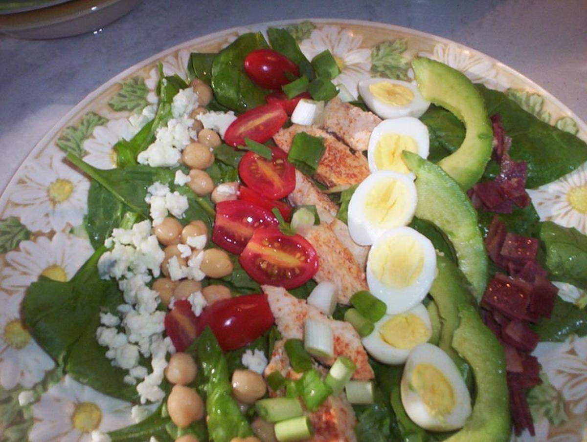 Carb Diva Cobb Salad