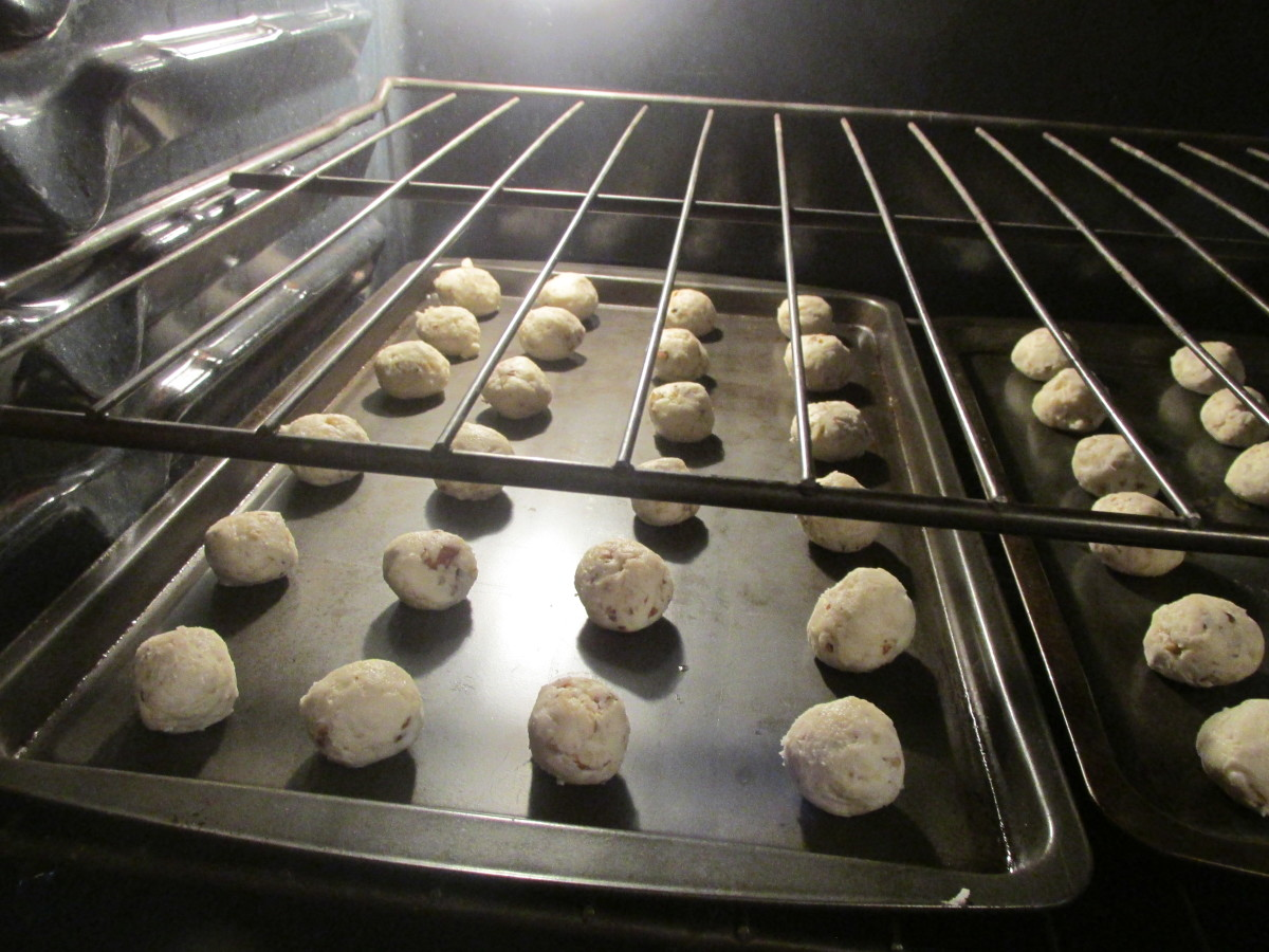 First time in the oven.